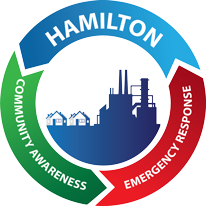 Hamilton Community Awareness and Emergency Response (CAER) logo